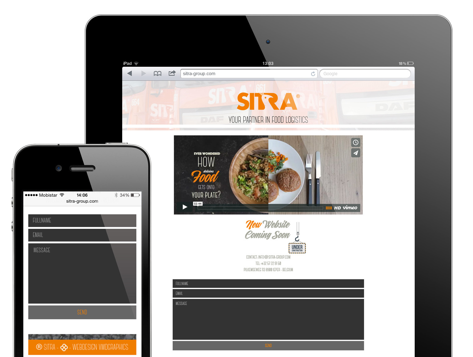Sitra Group: New Website
