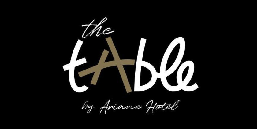 The tAble by Hotel Ariane